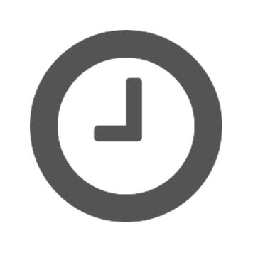 Klokkeikon spar tid