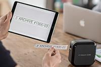 Utskrift av merkelapp fra iOS og Android mobile enhet med Brother P-touch P710BT merkemaskin