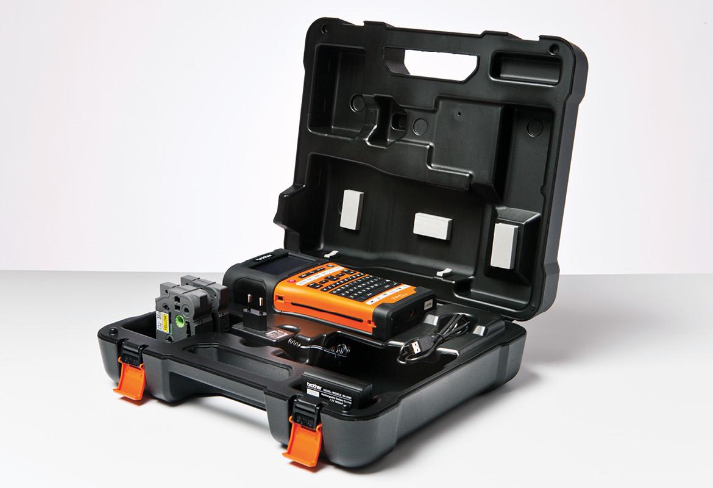 Brother PTE550WSP merkekemaskin i koffert