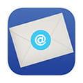 En konvolutt med ikon for e-post varsel