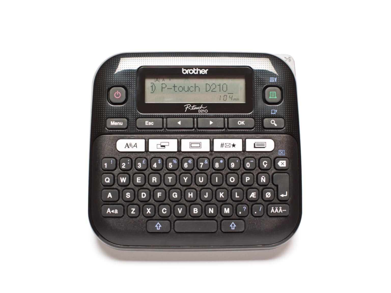 P-touch PTD210VP merkemaskin