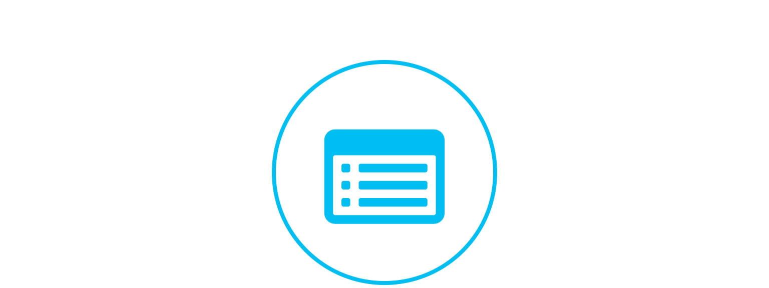 ikon for side for registrering