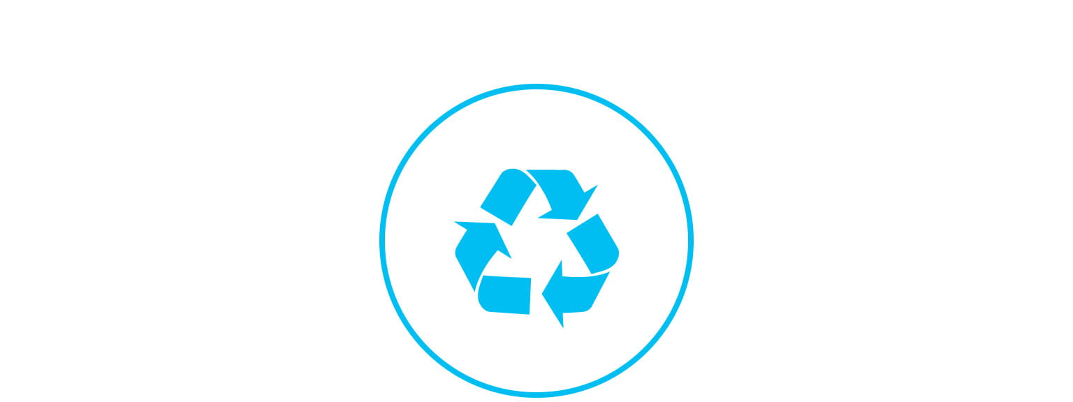 recycle logo icon support page