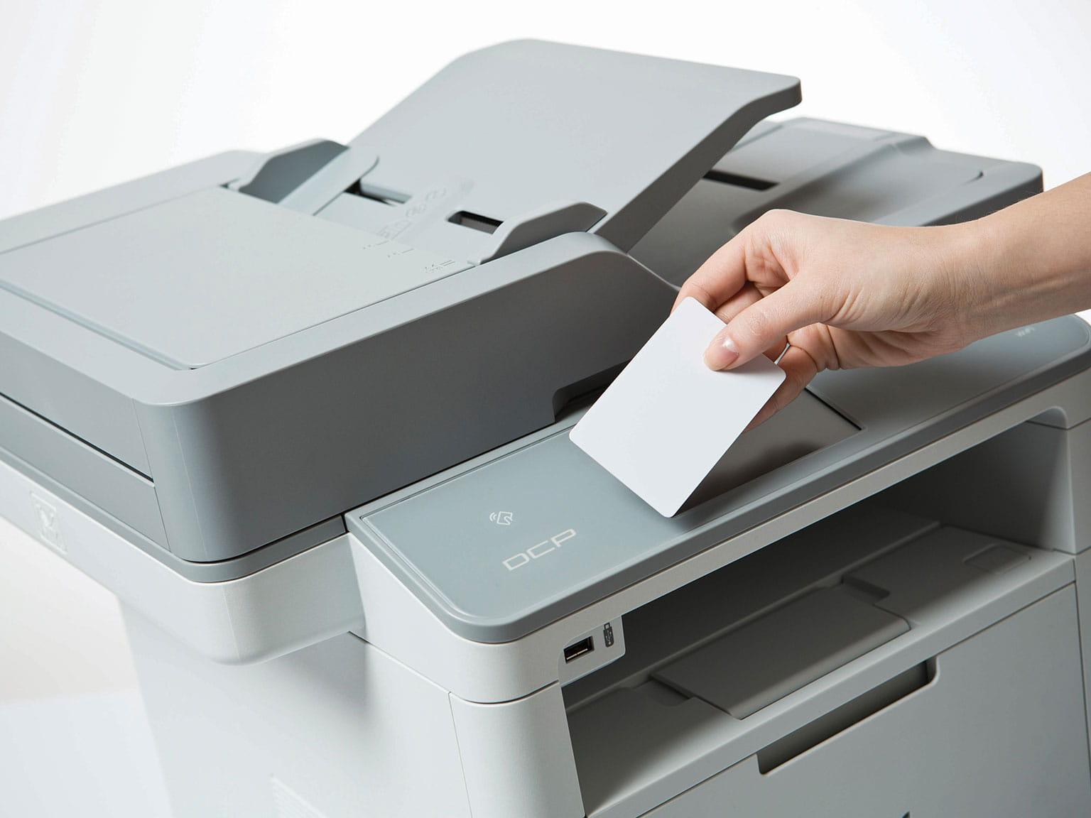 En Brother skriver med Managed Print Services