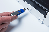Brother ADS1200 dokument skanner med skann til USB