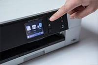 Brother DCPJ774DW printer berøringsskjerm