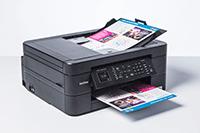 Brother MFCJ491DW med print, kopi, skann og faks