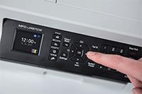Brother MFCJ497DW med brukervennlig 4,5 cm farge LCD skjerm