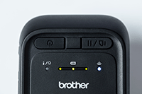 Nærbilde av Brother RJ2035B eller RJ2055WB 2 mobil skriver