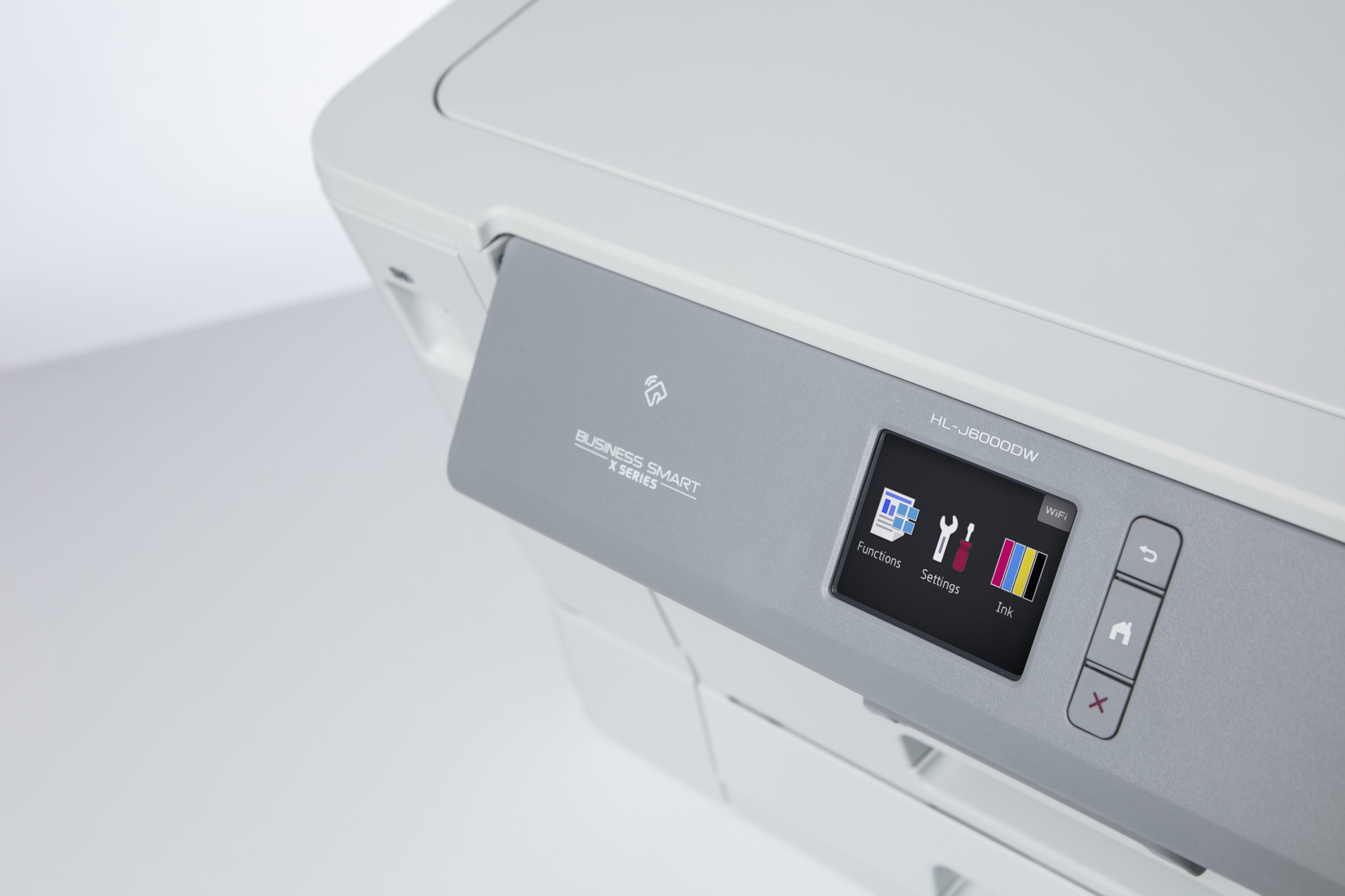Brother HL J6000DW blekkskriver med 6,8 cm LCD farge berøringsskjerm