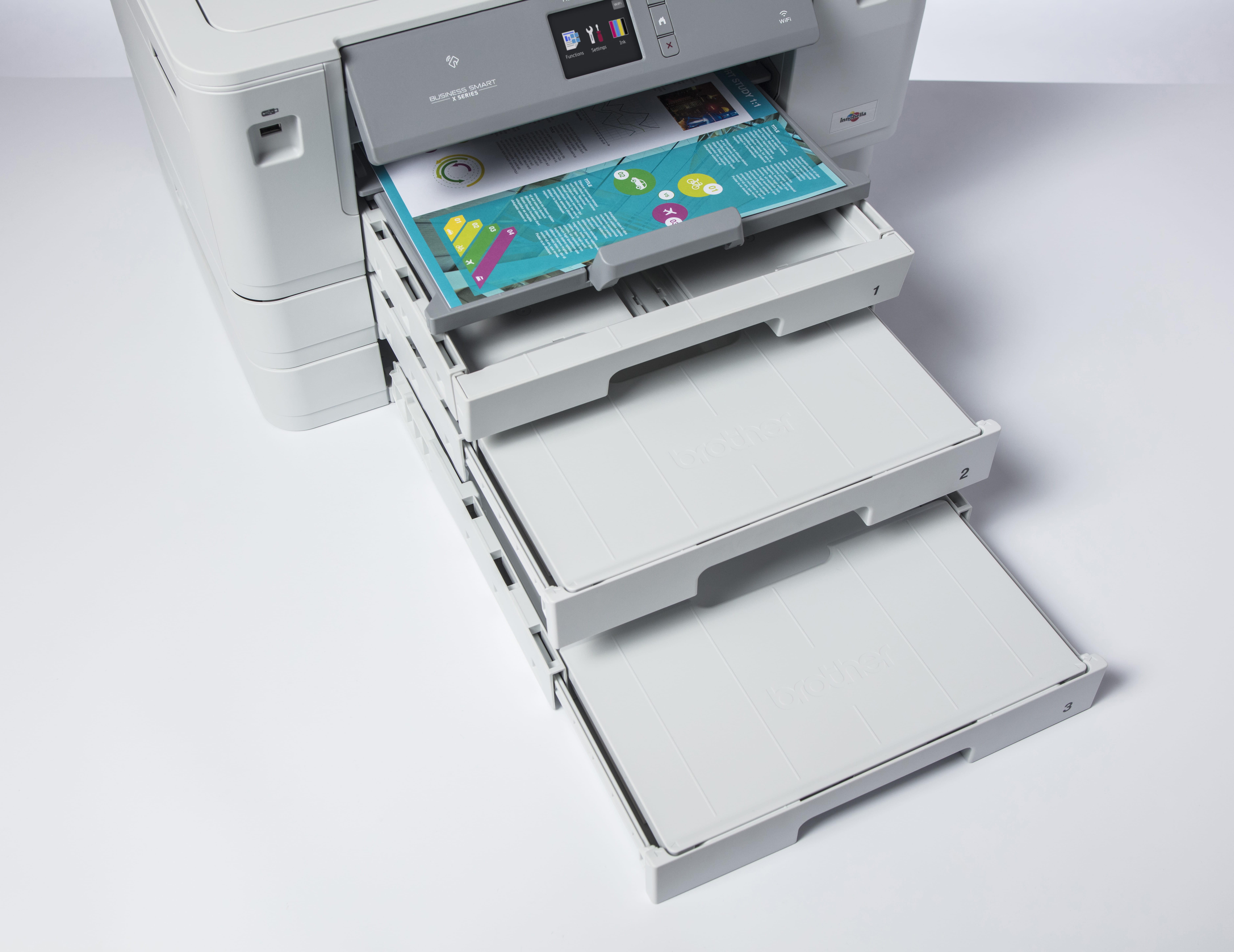 Brother HL J6100DW blekkskriver med tre papirmagasin