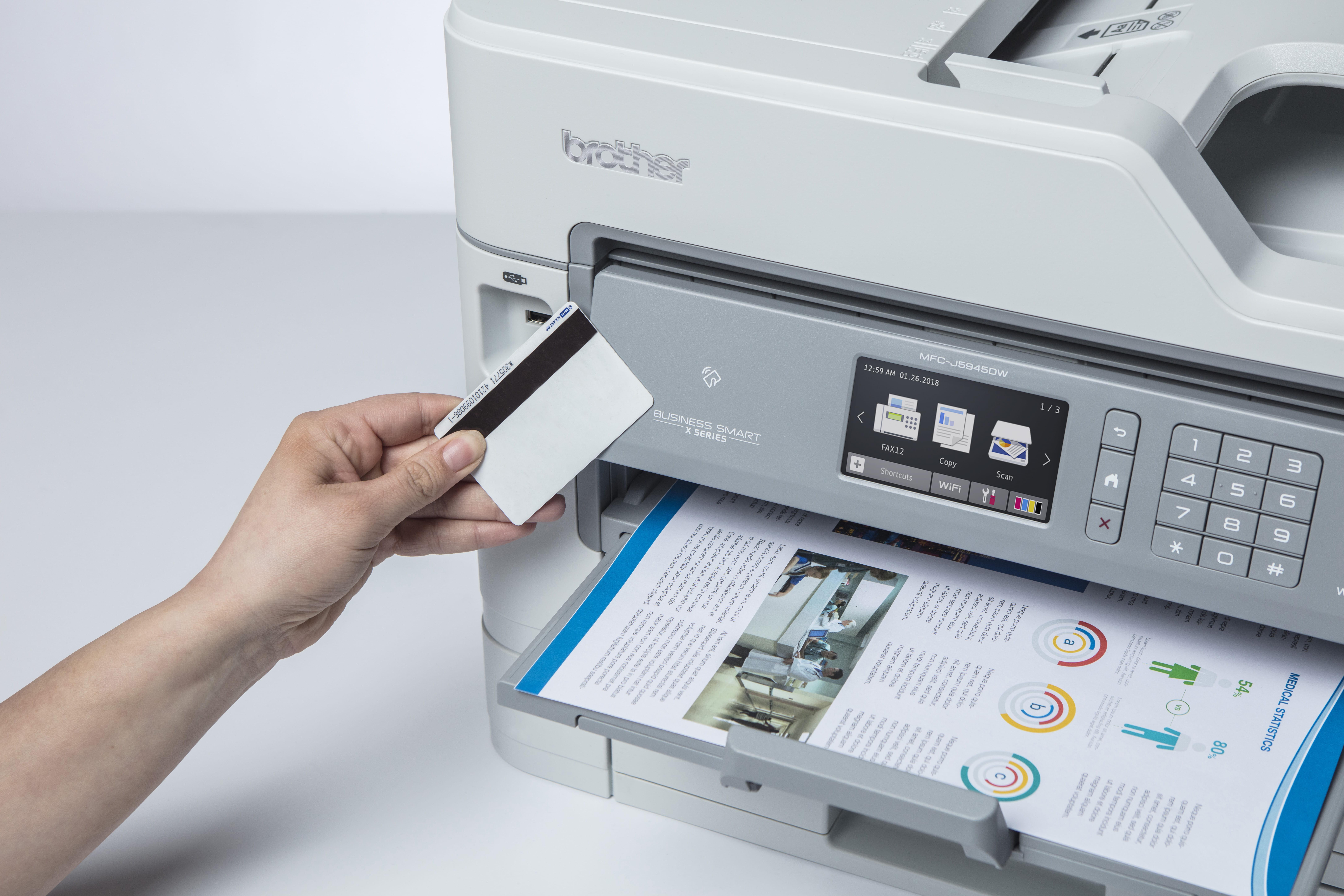 Brother MFC J5945DW multifunksjon blekkskriver med NFC