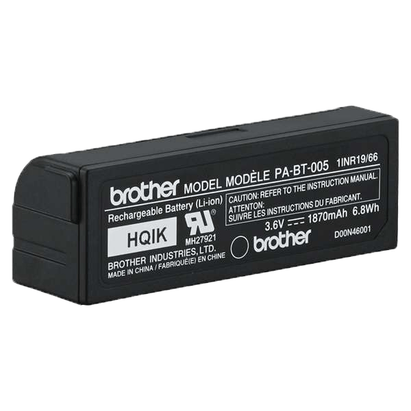 Brother PABT005 oppladbart Li-ion batteri (Passer til Brother P-touch CUBE Plus merkemaskiner) 4