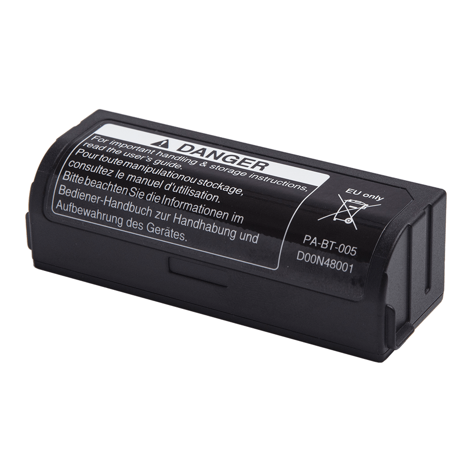 Brother PABT005 oppladbart Li-ion batteri (Passer til Brother P-touch CUBE Plus merkemaskiner) 2