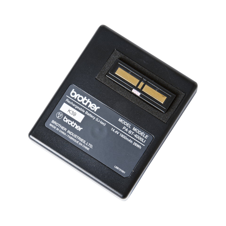 PABT4000LI oppladbart Li-ion batteri