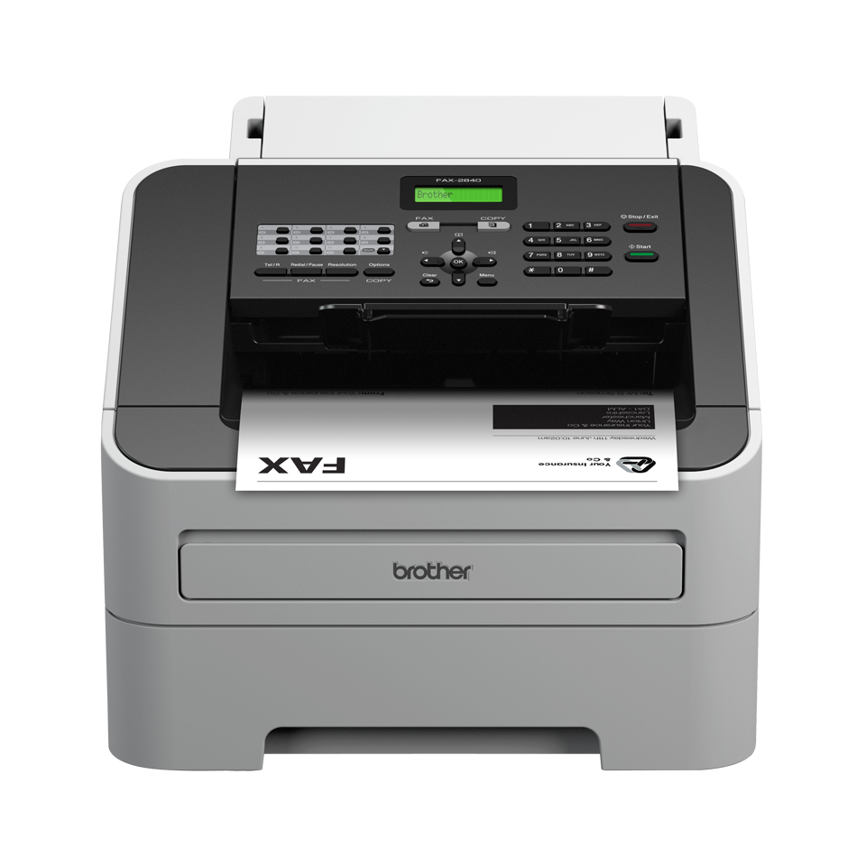 Brother FAX2840 faksmaskin front