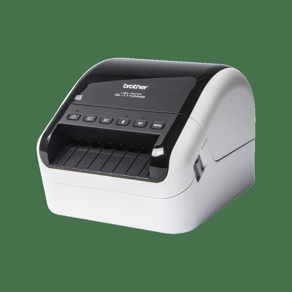 QL1110NWB etikettskriver for leveranseetiketter i bredt format med strekkoder