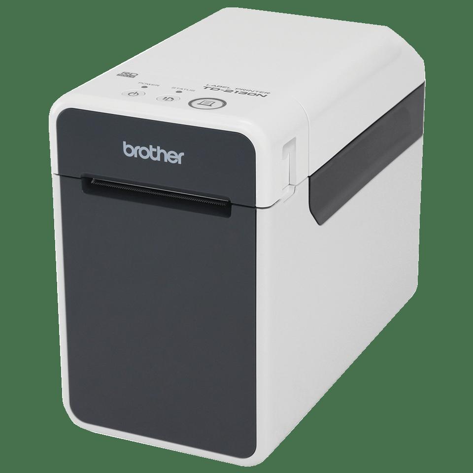 Brother TD2130N etikettskriver og kvitteringsskriver med innebygget nettverk