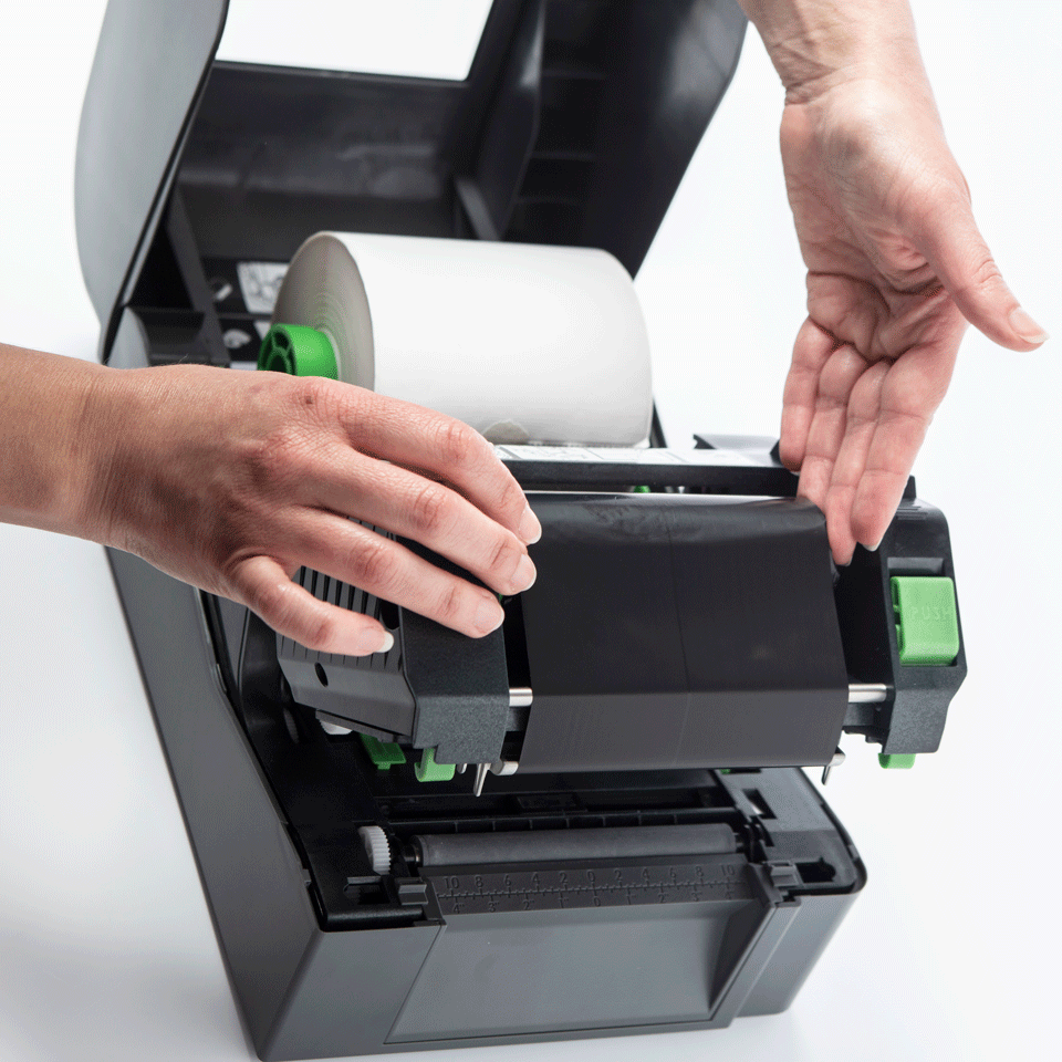 Brother TD4420TN skrivebords etikettskriver med termisk overføringsteknologi 5