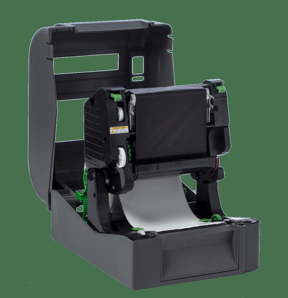 Brother TD4520TN skrivebords etikettskriver med termisk overføringsteknologi og høy oppløsning 4