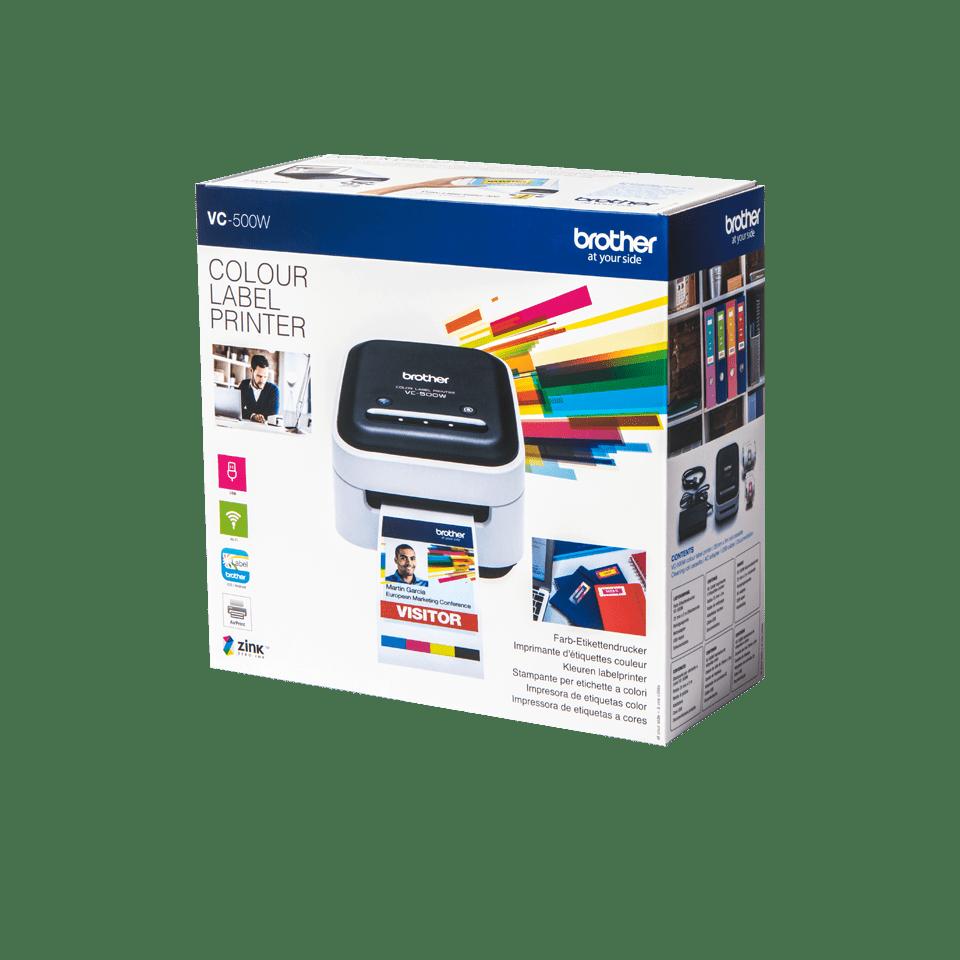 Brother VC500W fullfarge etikettskriver 4