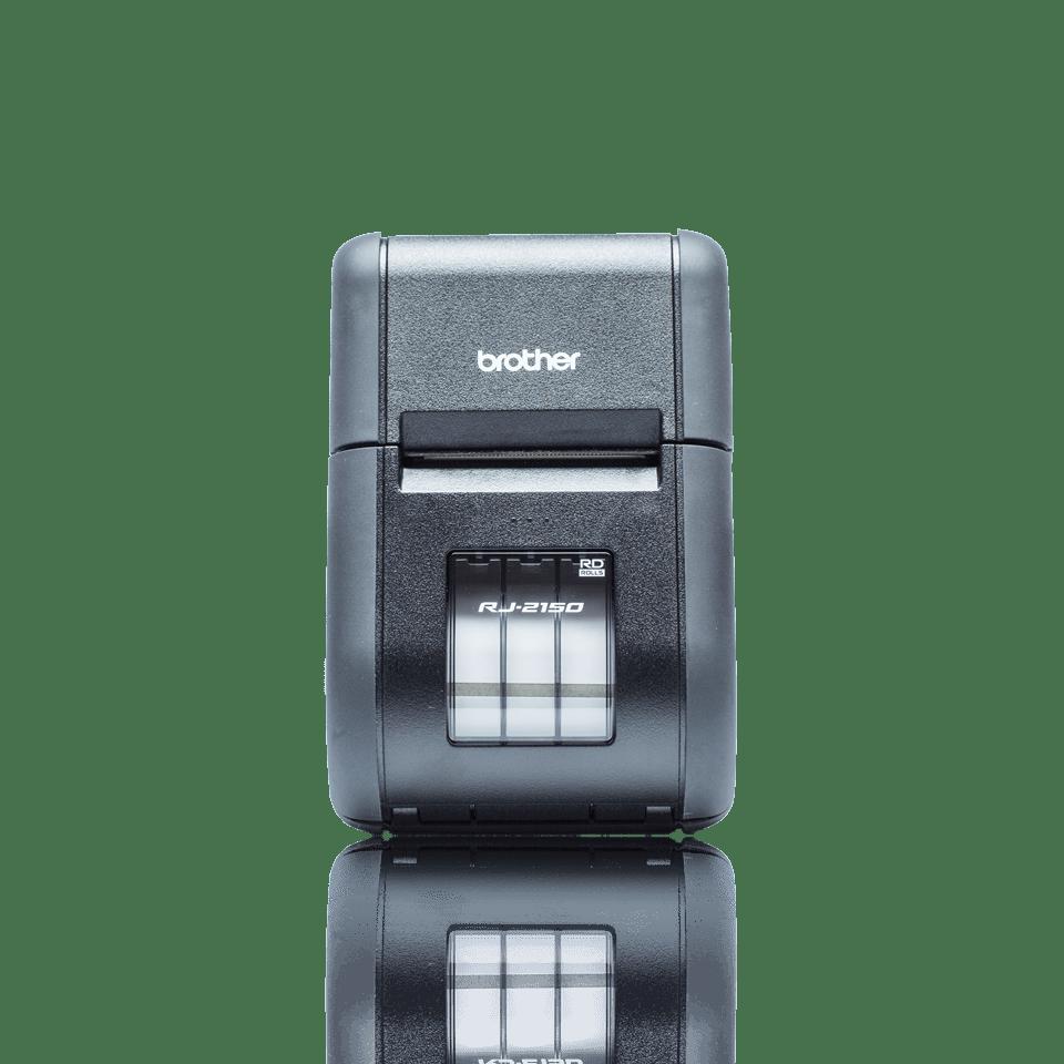 Brother RJ2150 mobil kvitteringsskriver og etikettskriver front