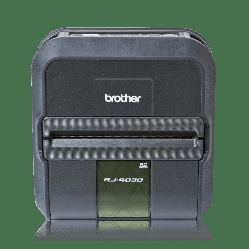 Brother RJ4030 mobil kvitteringsskriver og etikettskriver front
