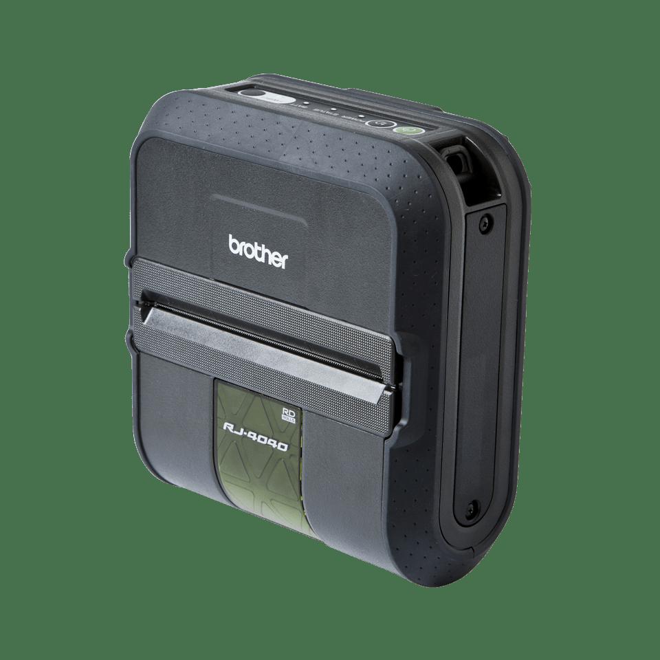 RJ4040 mobil etikett og kvitterings skriver