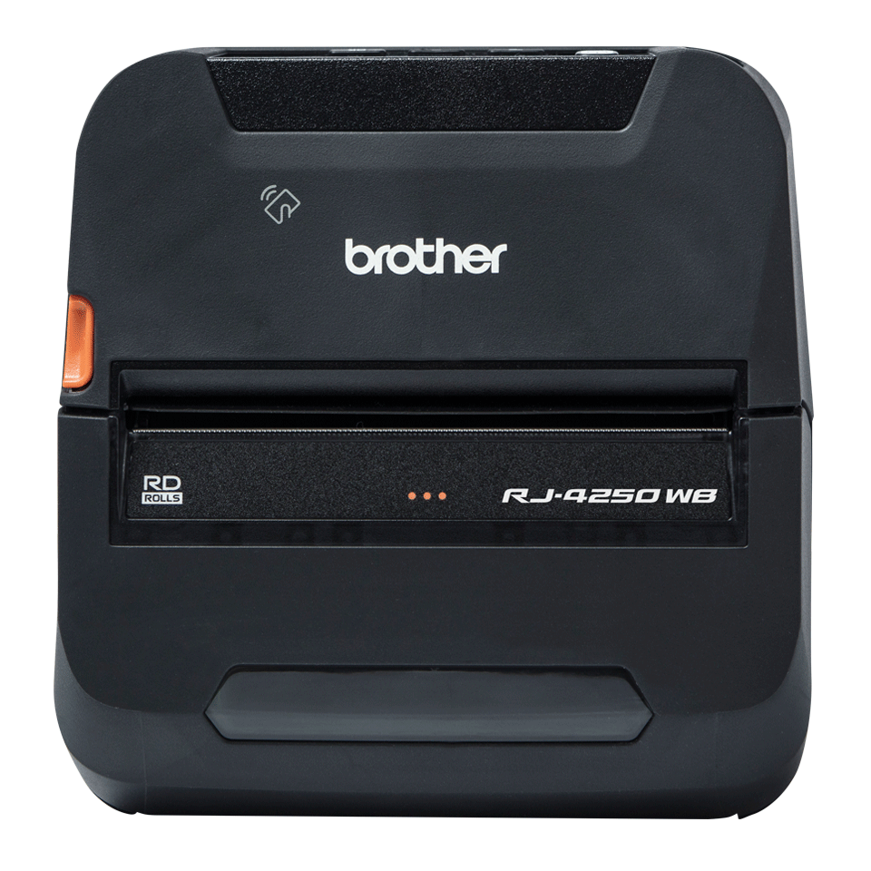 Brother RJ4250WB mobil kvitteringsskriver og etikettskriver med Wi-Fi og Bluetooth