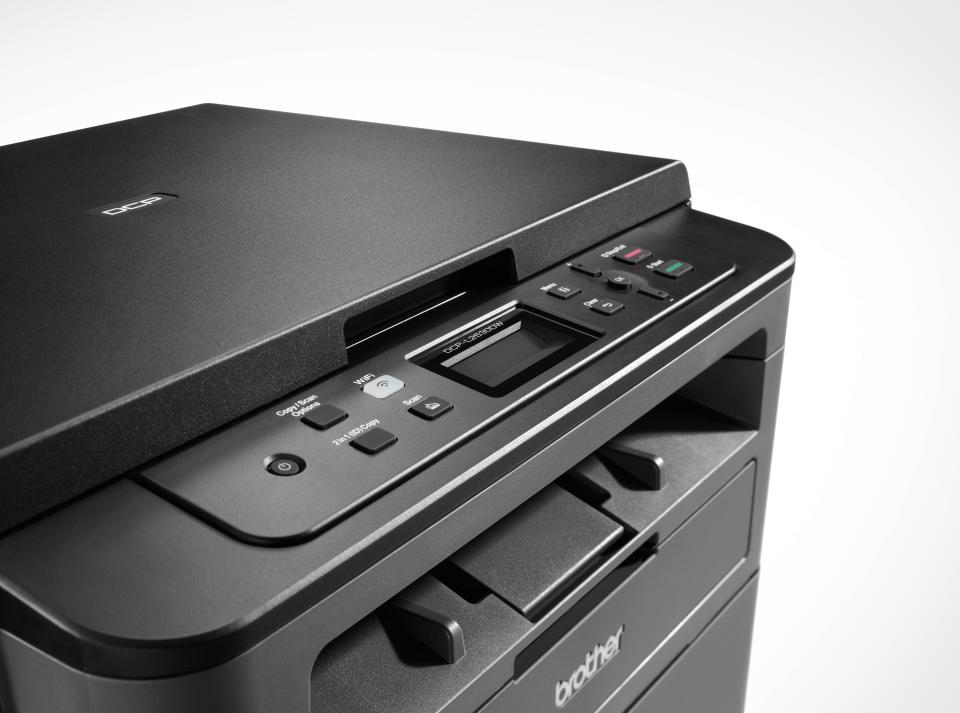 Brother DCPL2530DW - kompakt trådløs multifunksjon sort-hvitt laserskriver  5