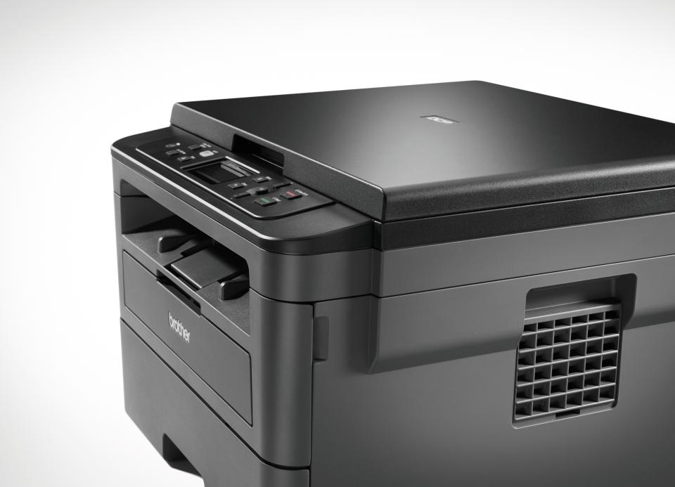 Brother DCPL2530DW - kompakt trådløs multifunksjon sort-hvitt laserskriver  6