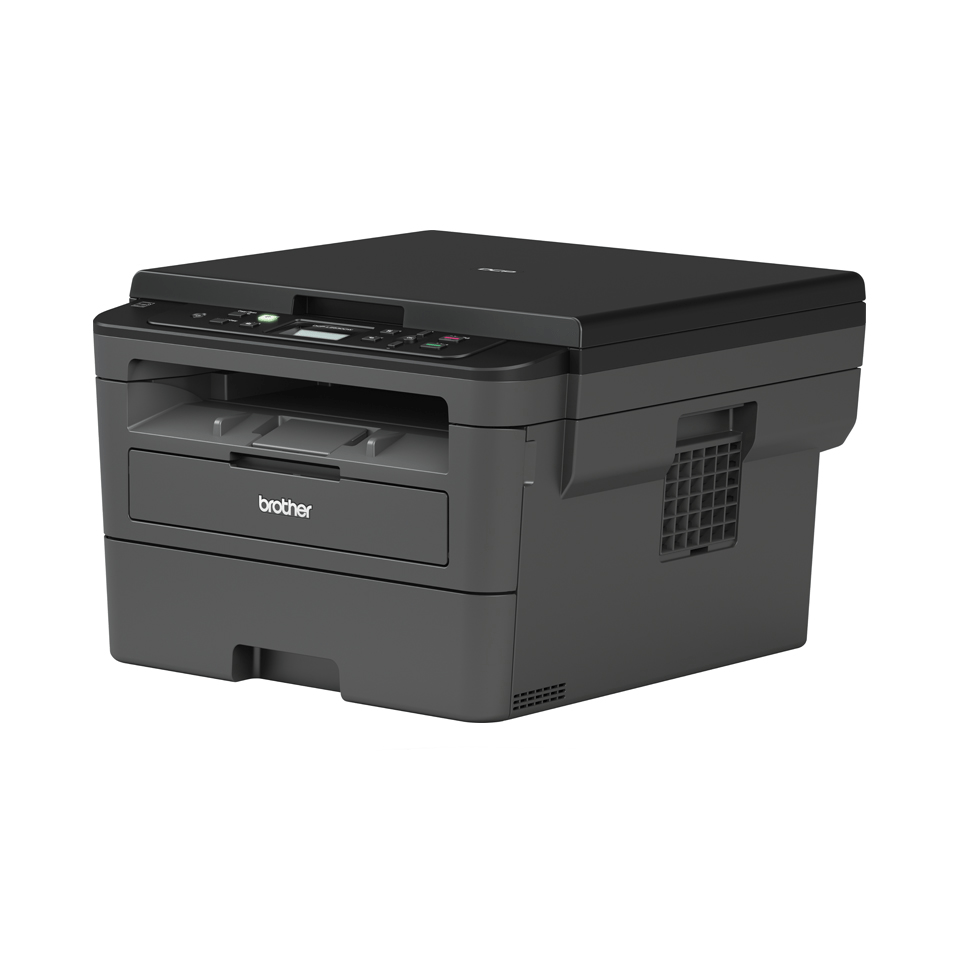 Brother DCPL2530DW - kompakt trådløs multifunksjon sort-hvitt laserskriver