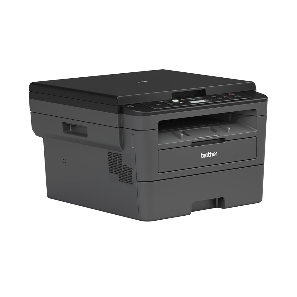 Brother DCPL2530DW - kompakt trådløs multifunksjon sort-hvitt laserskriver  2