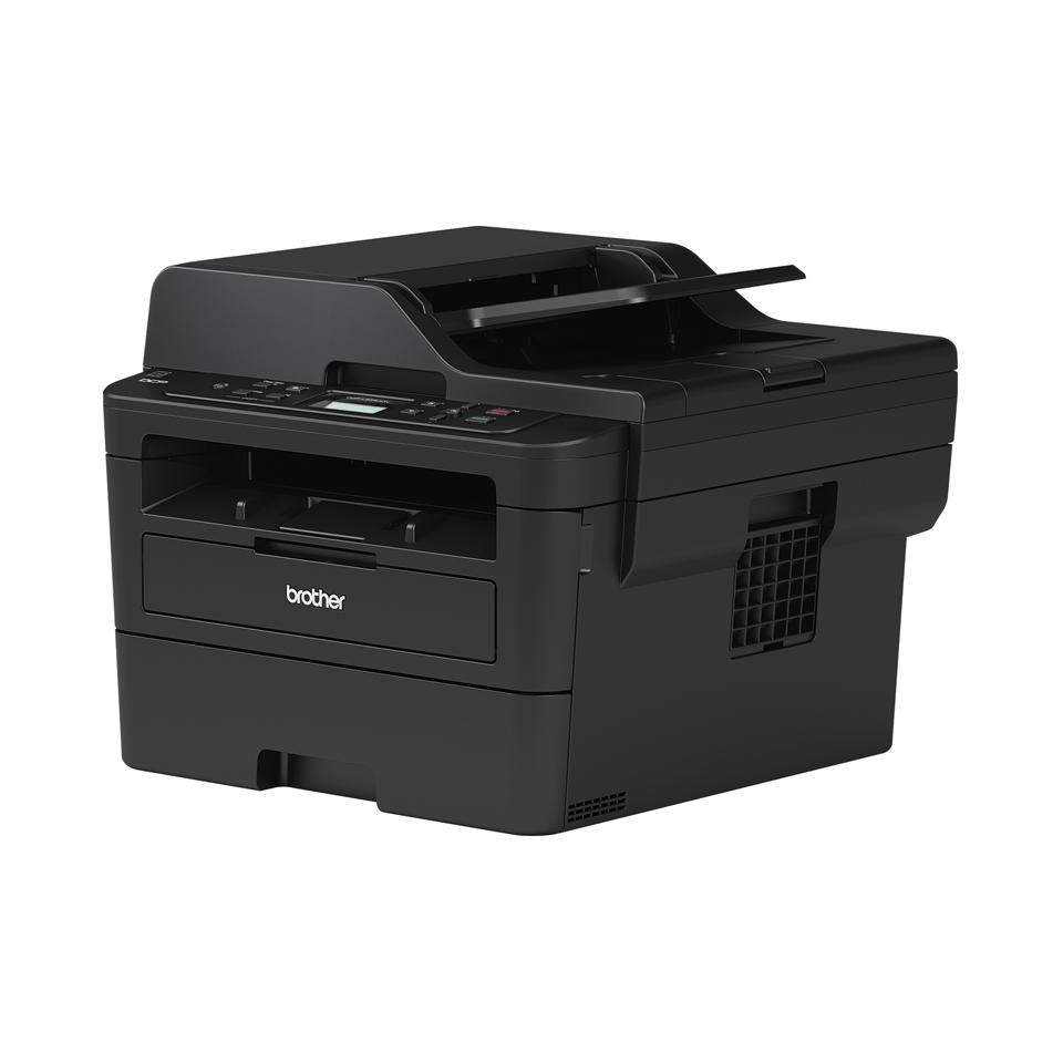 Brother DCPL2550DN kompakt multifunksjon sort-hvitt laserskriver med kablet nettverk