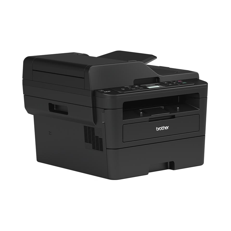 Brother DCPL2550DN kompakt multifunksjon sort-hvitt laserskriver med kablet nettverk 3