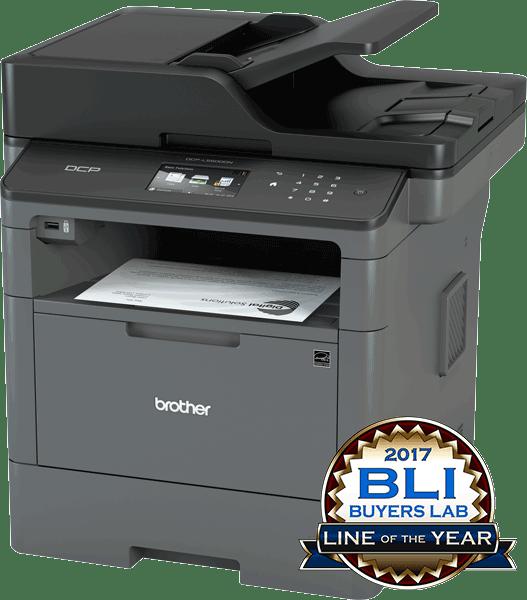 Brother DCPL5500DN multifunksjon sort-hvitt laserskriver