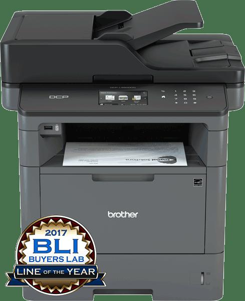 Brother DCPL5500DN multifunksjon sort-hvitt laserskriver 2