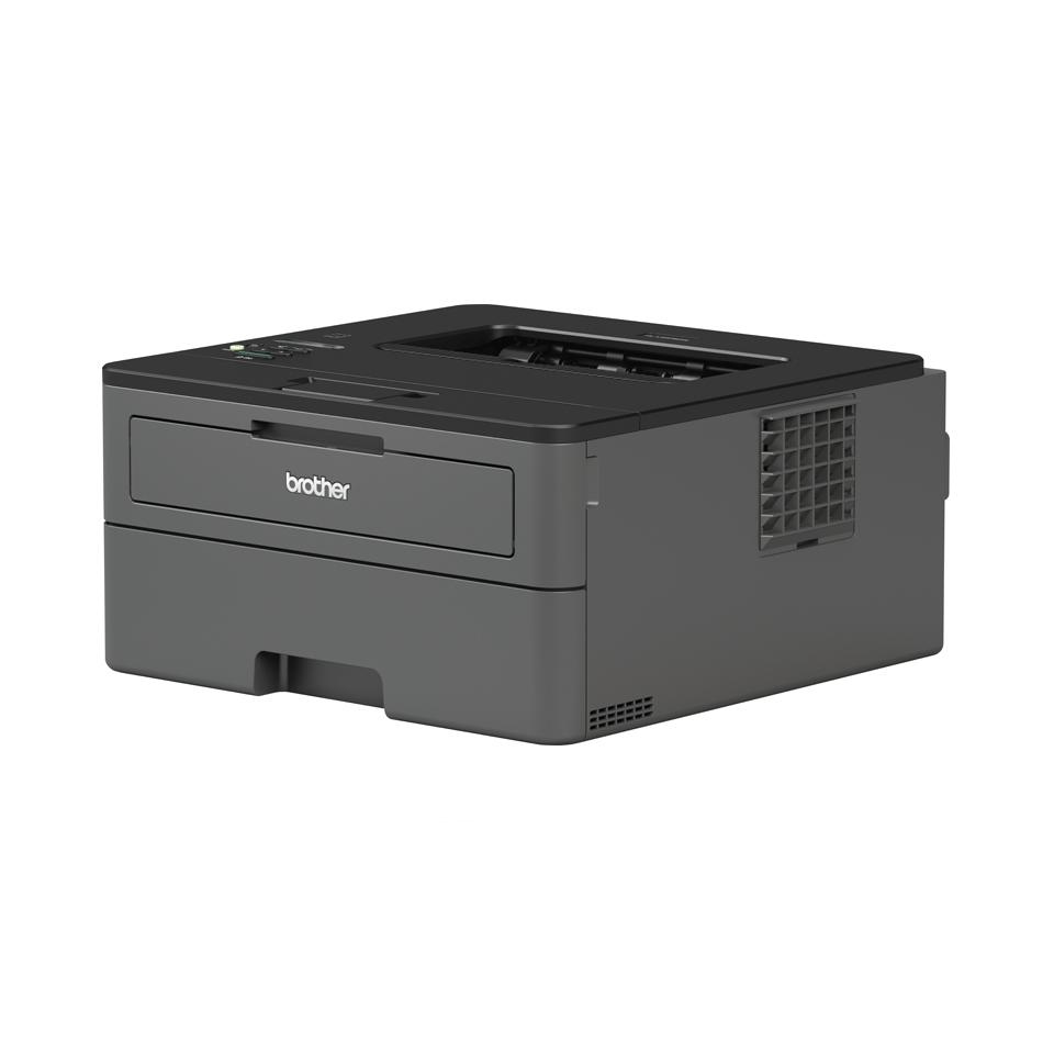 Brother HLL2375DW kompakt sort-hvitt laserskriver med kablet og trådløst nettverk og tosidig utskrift