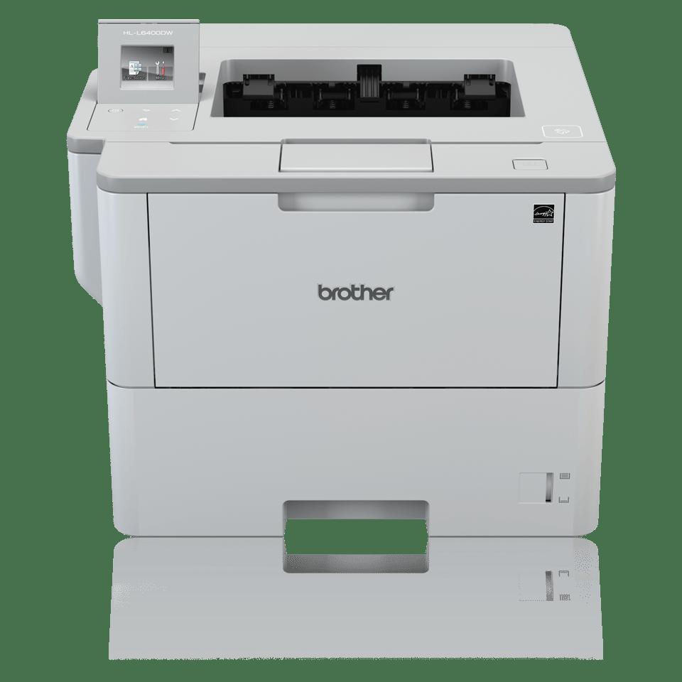 Brother HLL6400DW sort-hvitt laserskriver med award logo