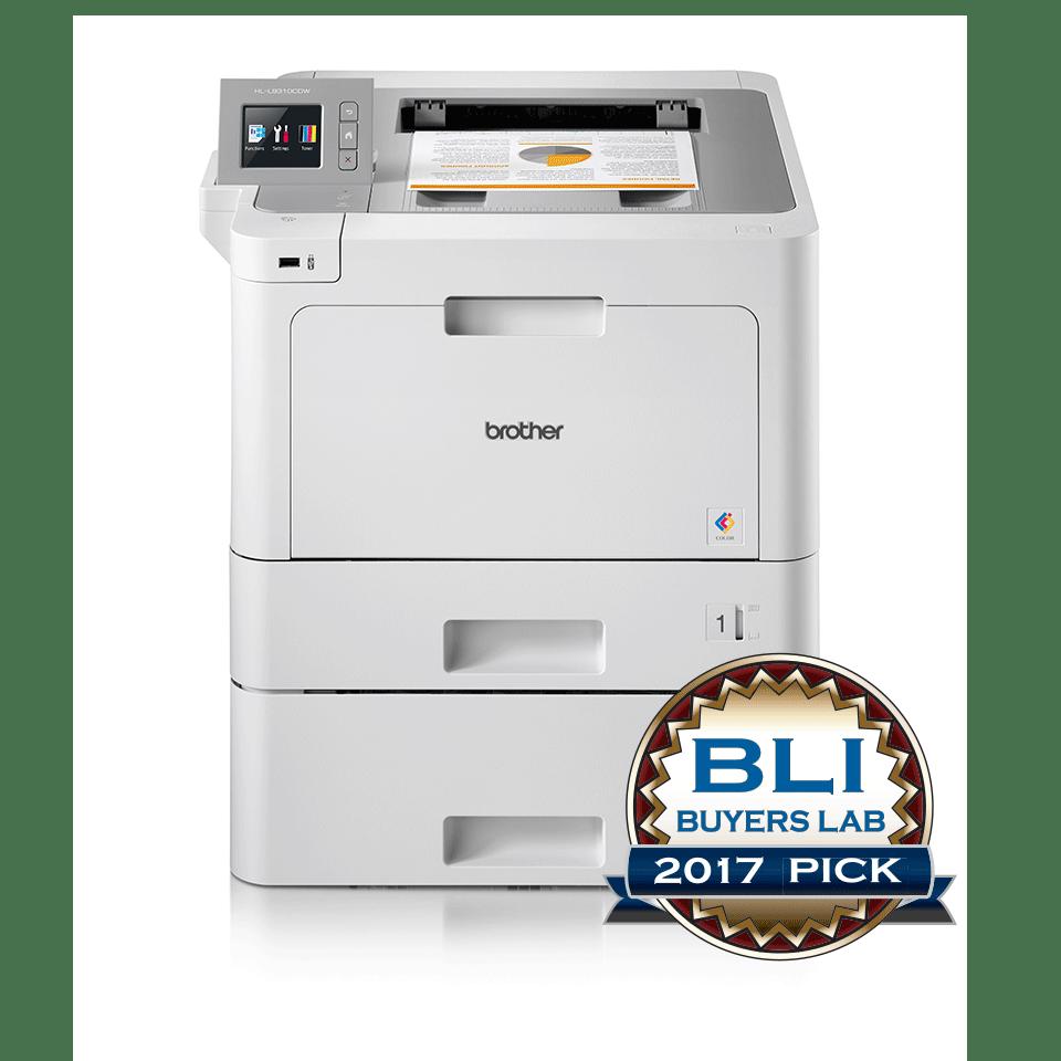 Brother HLL9310CDWT farge laserskriver med BLI Award logo 2017
