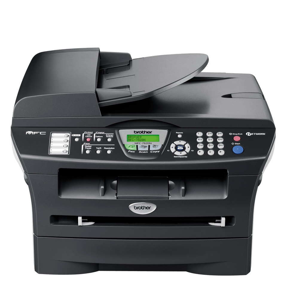MFC7820N multifunksjon sort-hvitt laserskriver