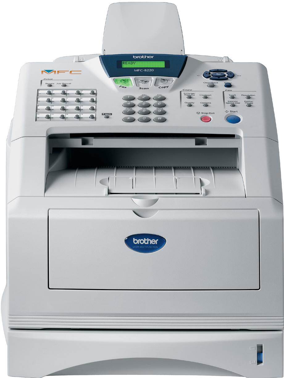 Brother MFC8220 multifunksjon sort-hvitt laserskriver