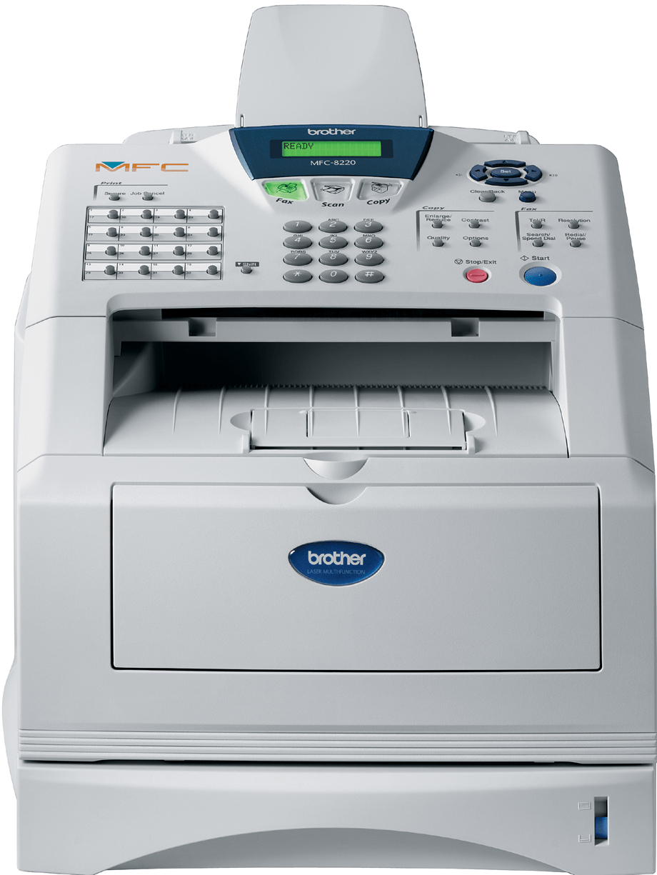 Brother MFC8220 multifunksjon sort-hvitt laserskriver