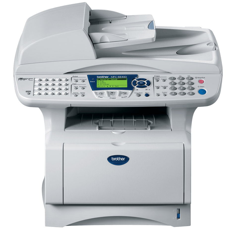 Brother MFC8840DN multifunksjon sort-hvitt laserskriver