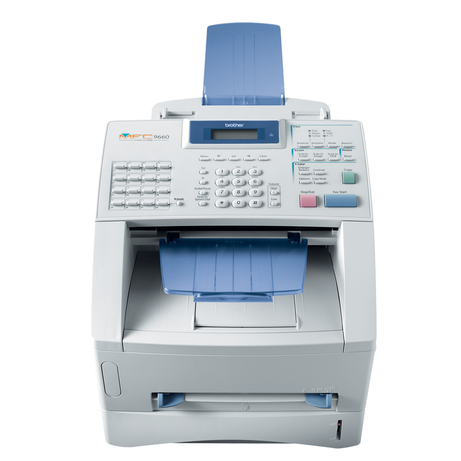 Brother MFC9650 multifunksjon sort-hvitt laserskriver