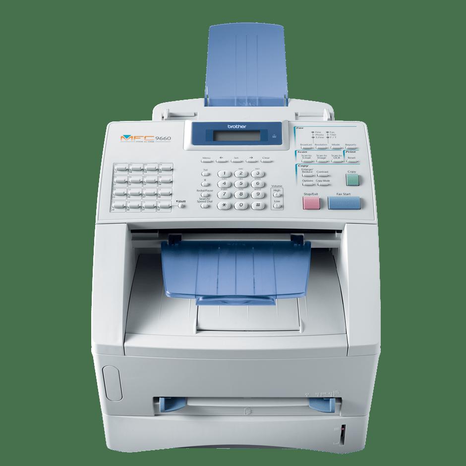 Brother MFC9650 multifunksjon sort-hvitt laserskriver