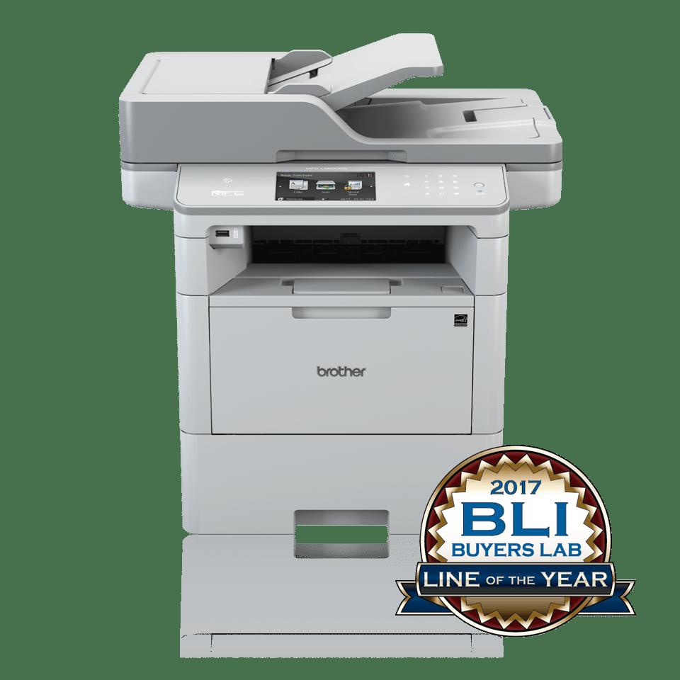 Brother MFCL6800DW multifunksjon sort-hvitt laserskriver 2