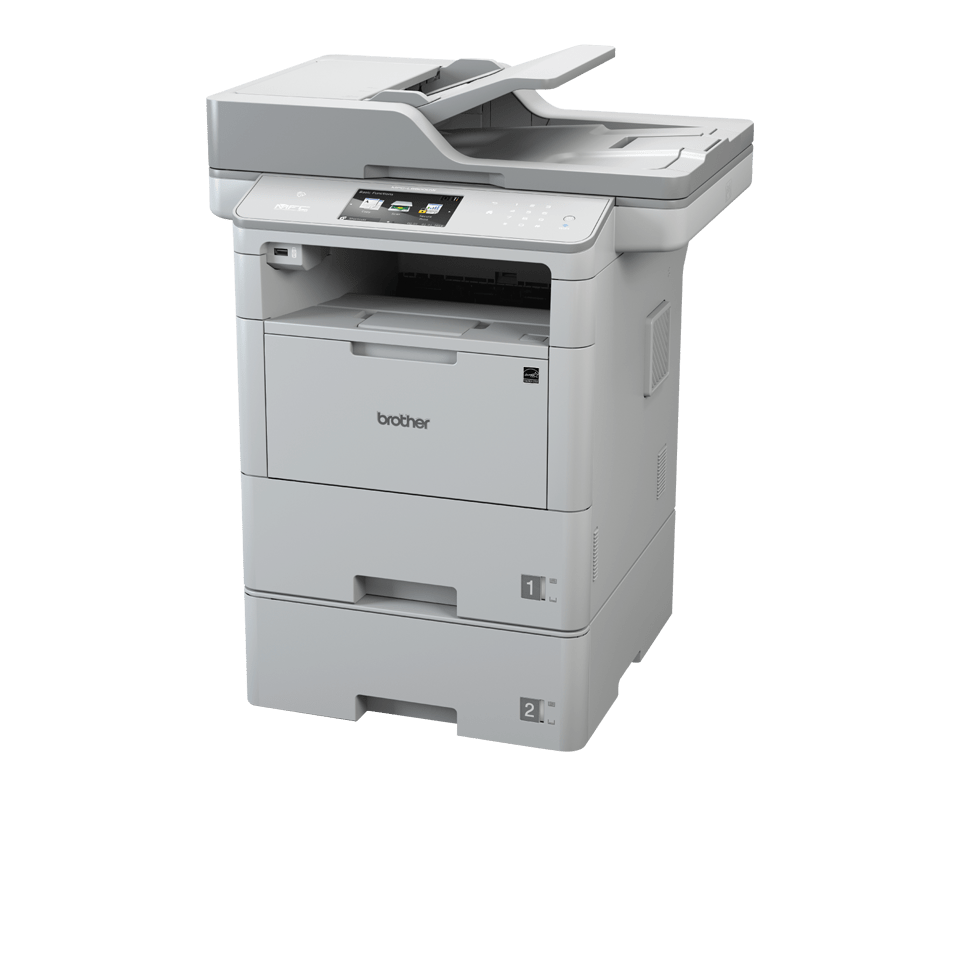 Brother MFCL6800DWT multifunksjon sort-hvitt laserskriver
