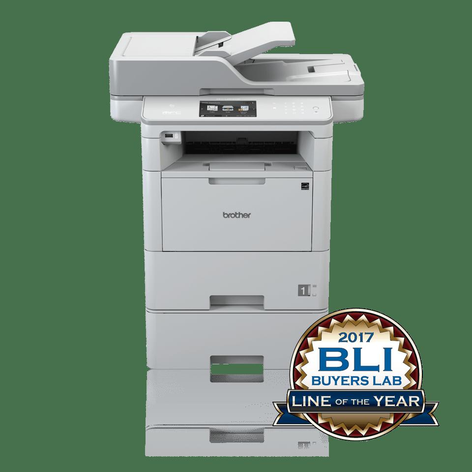 Brother MFCL6800DWT multifunksjon sort-hvitt laserskriver 2