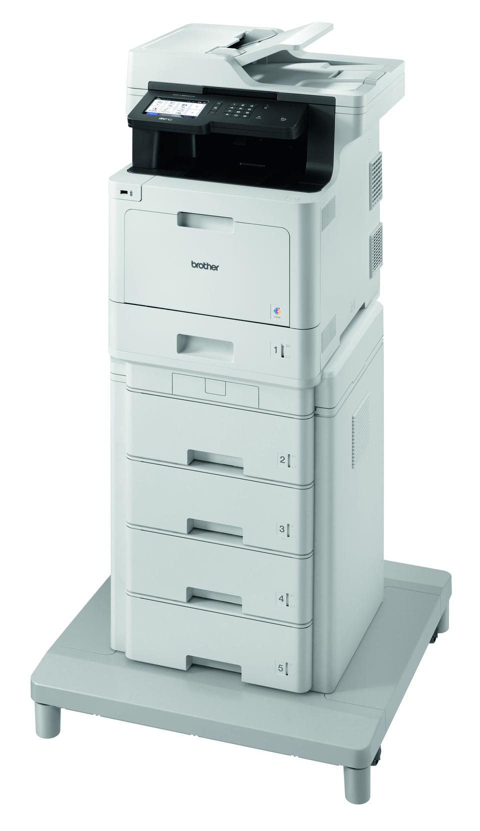 Brother MFCL8900CDWMT profesjonell multifunksjon farge laserskriver med ekstra stor papirkapasitet 2